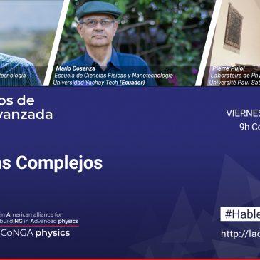 Este viernes hablaremos de sistemas complejos