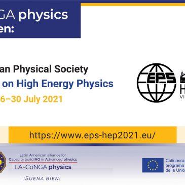 29/06/21 LA-CoNGA physics presente en EPS-HEP2021