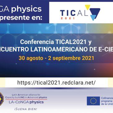 LA-CoNGA physics sonará en TICAL2021